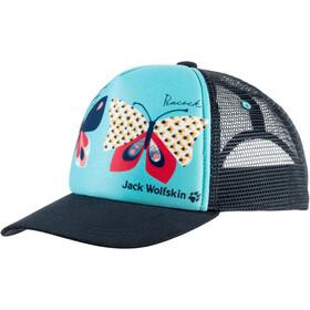 Jack Wolfskin Animal Mesh Cap Kids blue capri